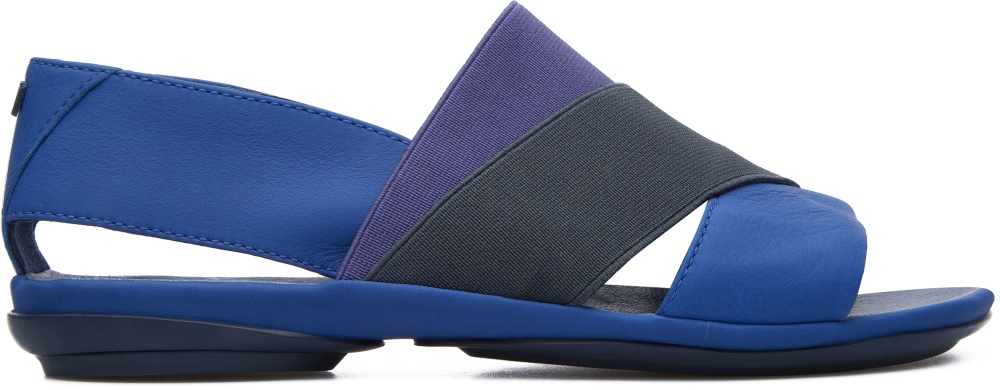 Camper Right Blue Sandals Women K200142-004