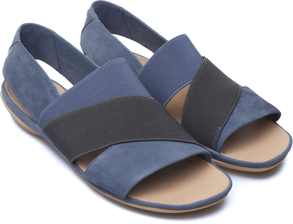 Camper Right Blue Sandals Women K200142-006