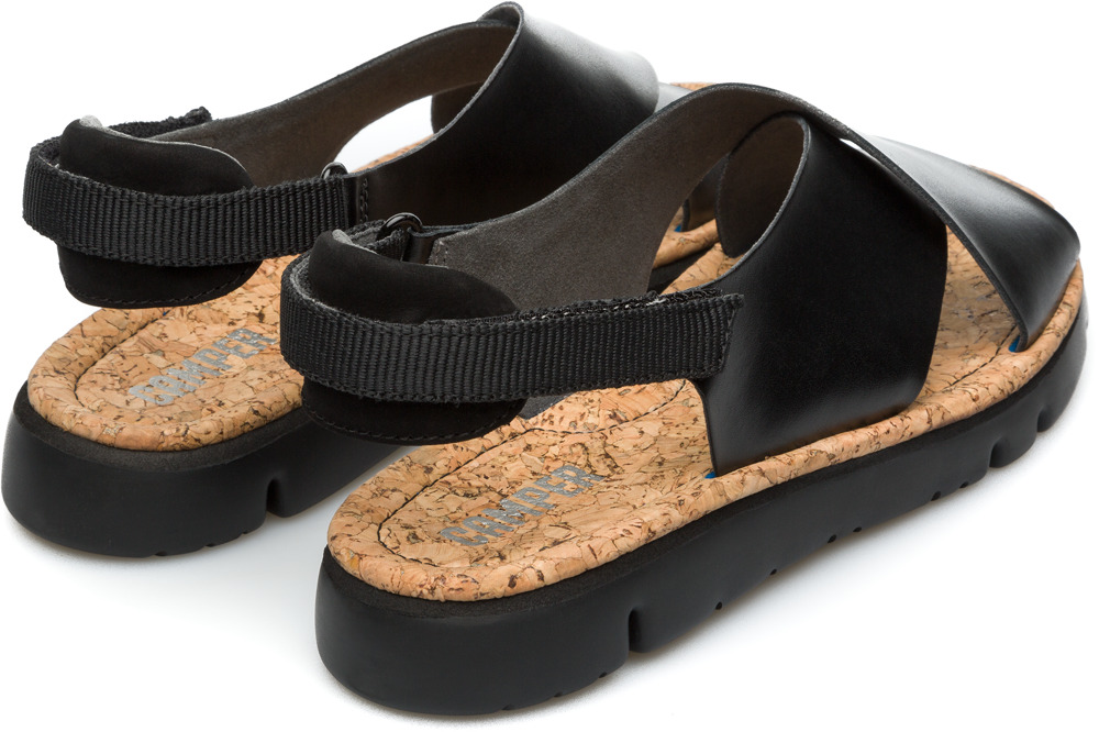 Camper Oruga Black Flat Shoes Women K200157-002