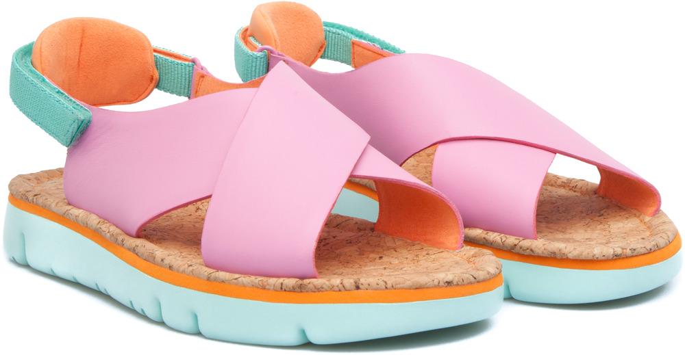 Camper Oruga Pink Sandals Women K200157-004