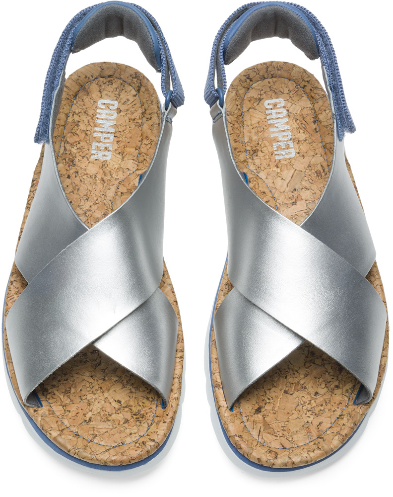 Camper Oruga Grey Sandals Women K200157-006