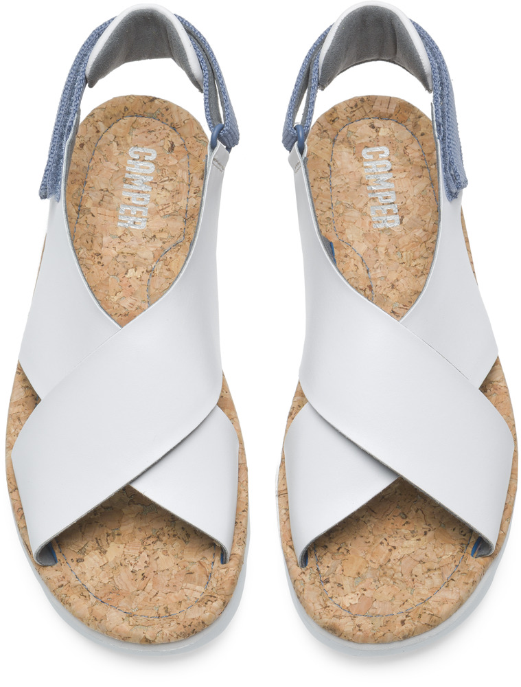Camper Oruga White Sandals Women K200157-007