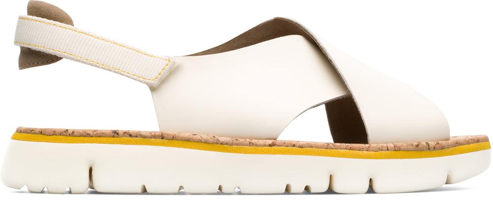 Camper Oruga Beige Platte schoenen Dames K200157-009