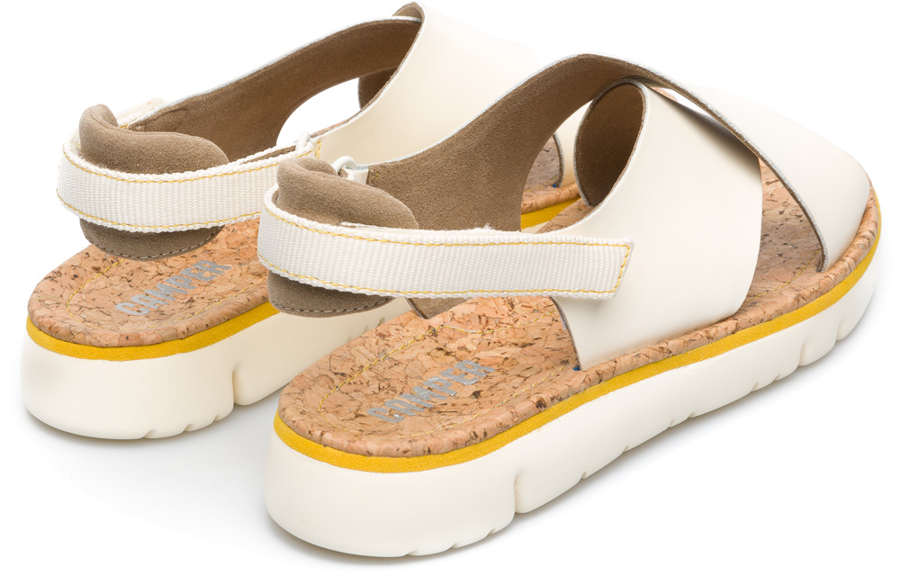 Camper Oruga Beige Flat Shoes Women K200157-009