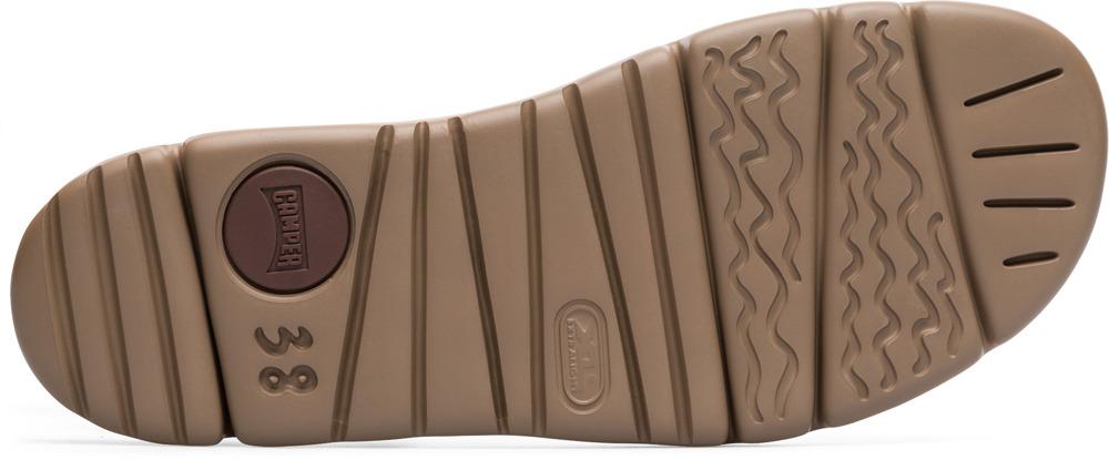 Camper Oruga Orange Chaussures plates Femme K200157-010