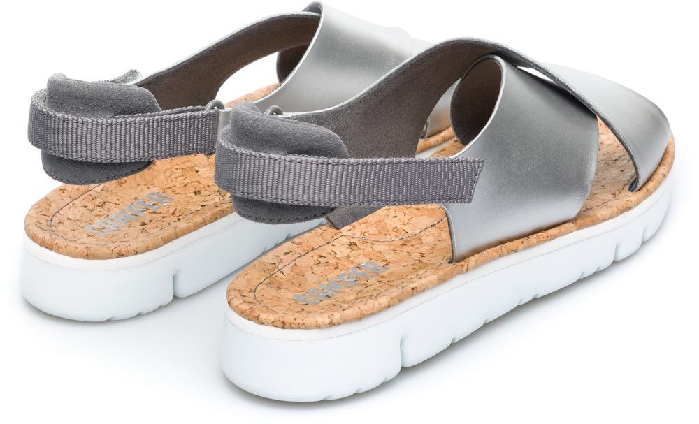 Camper Oruga Grijs Platte schoenen Dames K200157-011