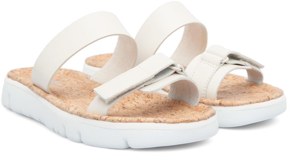 Camper Oruga Beige Sandals Women K200158-002