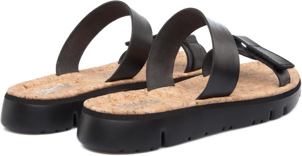Camper Oruga Black Sandals Women K200158-003