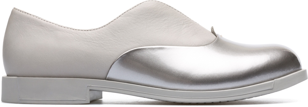 Camper Bowie Grey Flat Shoes Women K200204-006