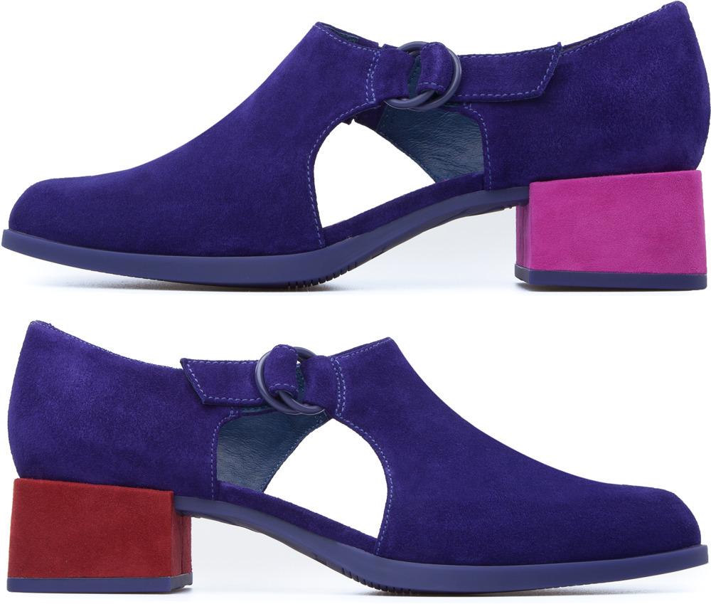 Camper Twins Purple Heels Women K200220-002