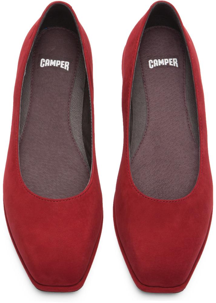 Camper Fidelia Red Flats Women K200222-004