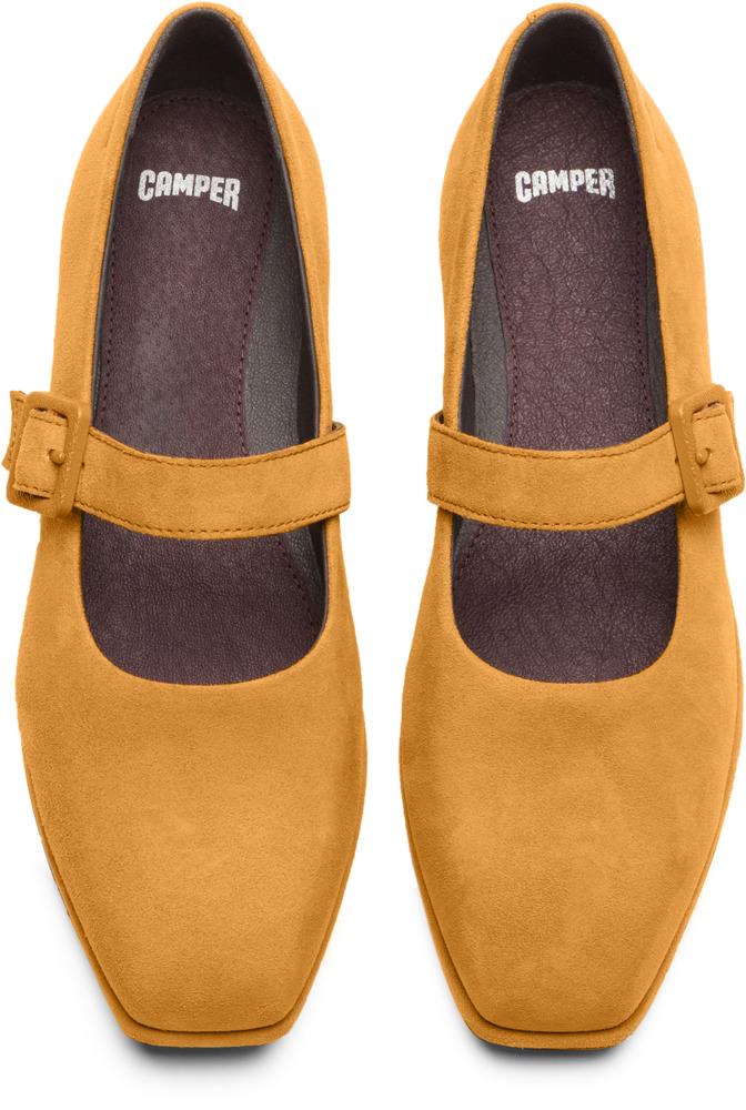 Camper Fidelia Yellow Flats Women K200226-001