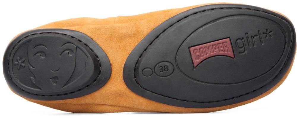 Camper Right Amarillo Zapatos planos Mujer K200238-003