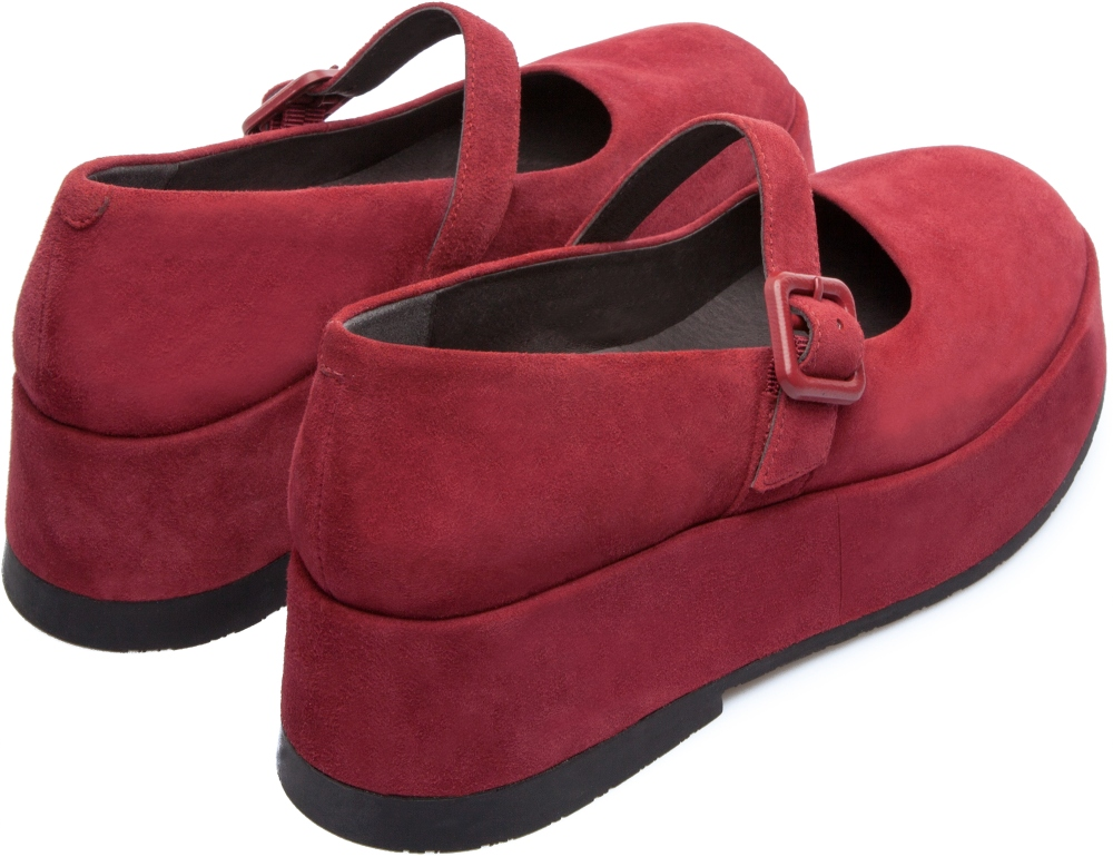 Camper Wilma Red Platforms Women K200255-001