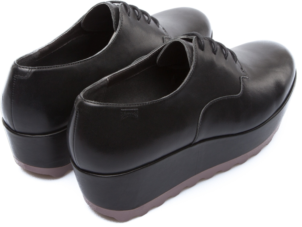 Camper Laika Black Platforms Women K200289-001