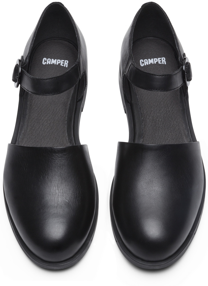 Camper Bowie Noir Chaussures plates Femme K200307-001