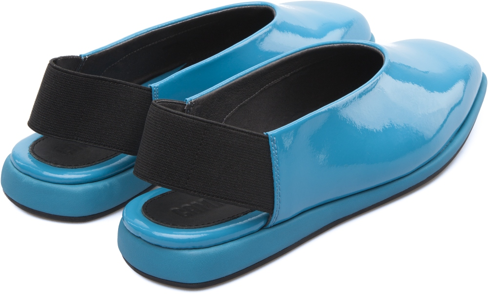 Camper Fidelia Blue Flat Shoes Women K200316-001