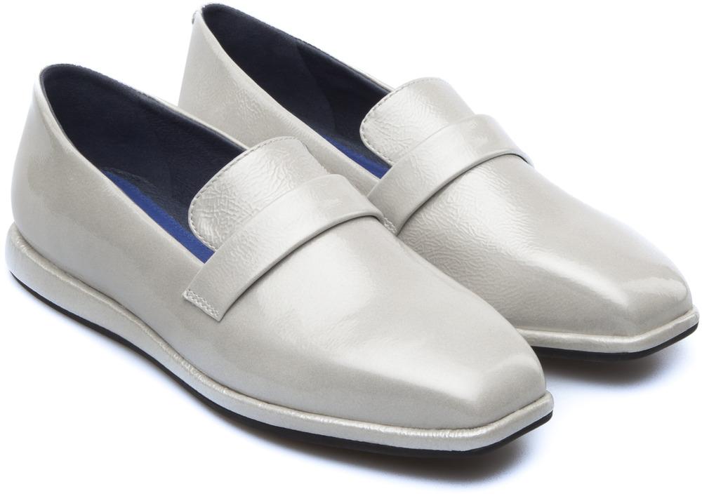 Camper Fidelia Gris Chaussures plates Femme K200318-001