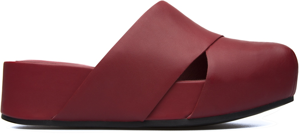 Camper Isamu Red Platforms / Wedges Women K200322-001
