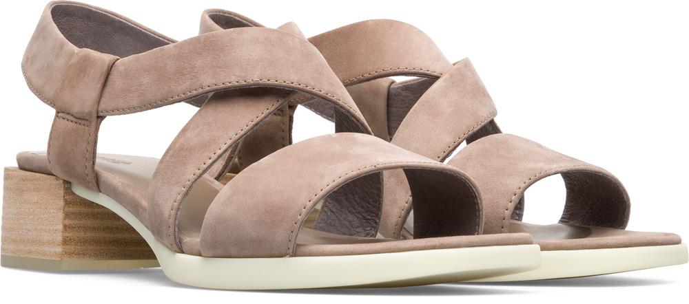 Camper Kobo Beige Formal Shoes Women K200328-005
