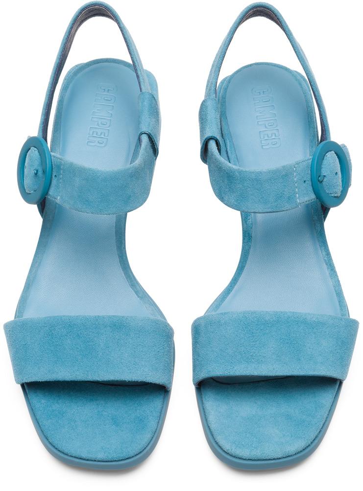 Camper Kobo Niebieski Eleganckie buty Kobiety K200342-003
