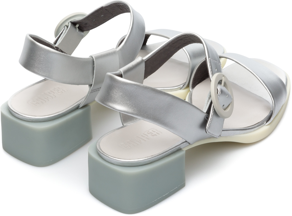 Camper Kobo Grey Formal Shoes Women K200342-007