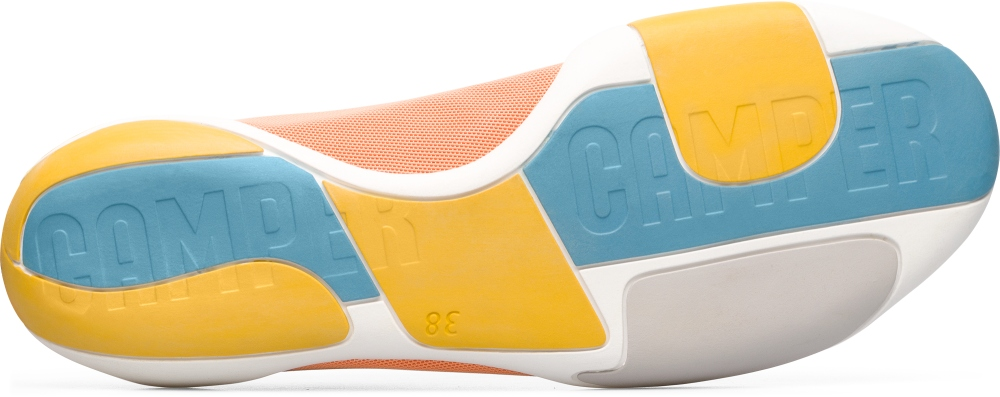 Camper Noshu Orange Sneakers Women K200351-009