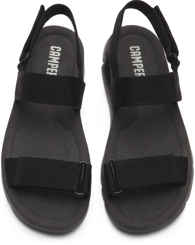 Camper Oruga Black Sandals Women K200355-002