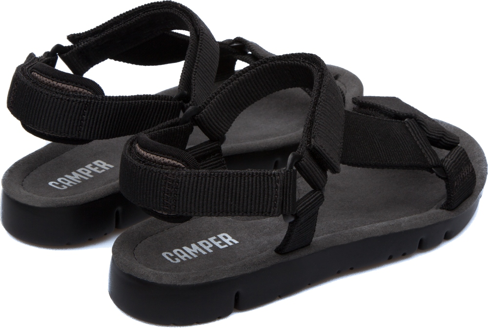 Camper Oruga Black Flat Shoes Women K200356-001