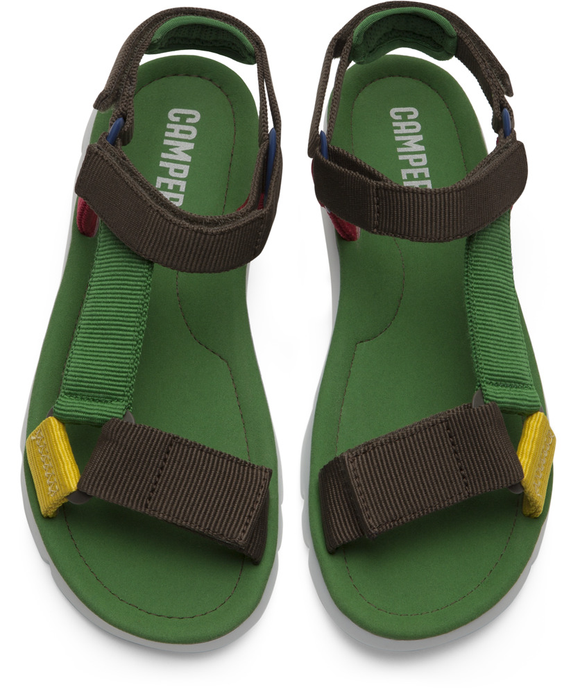Camper Oruga Black Sandals Women K200356-003