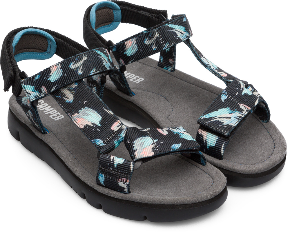 Camper Oruga Multicolor Flat Shoes Women K200356-006