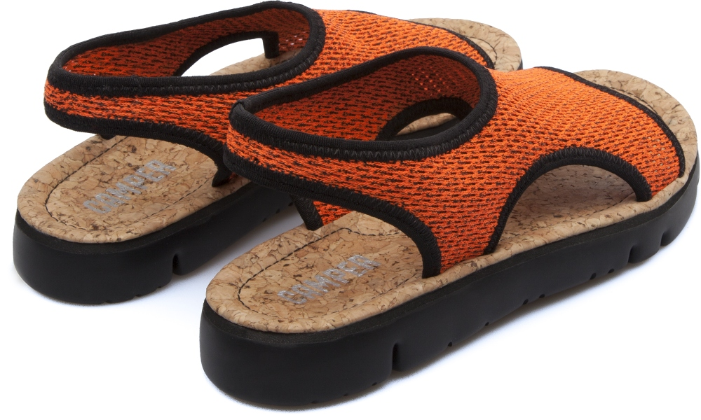 Camper Oruga Orange Sandals Women K200360-002