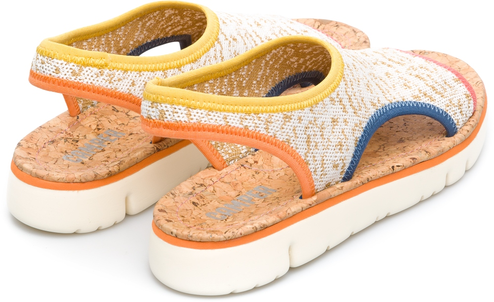 Camper Oruga Multicolor Flat Shoes Women K200360-004