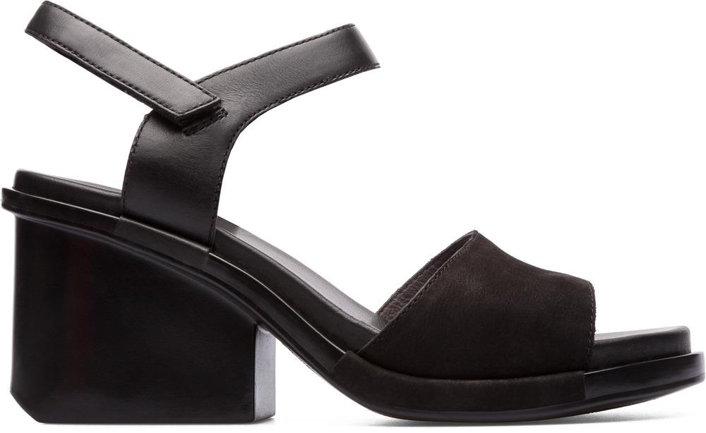 Camper Ivy Negro Zapatos de tacón Mujer K200398-001