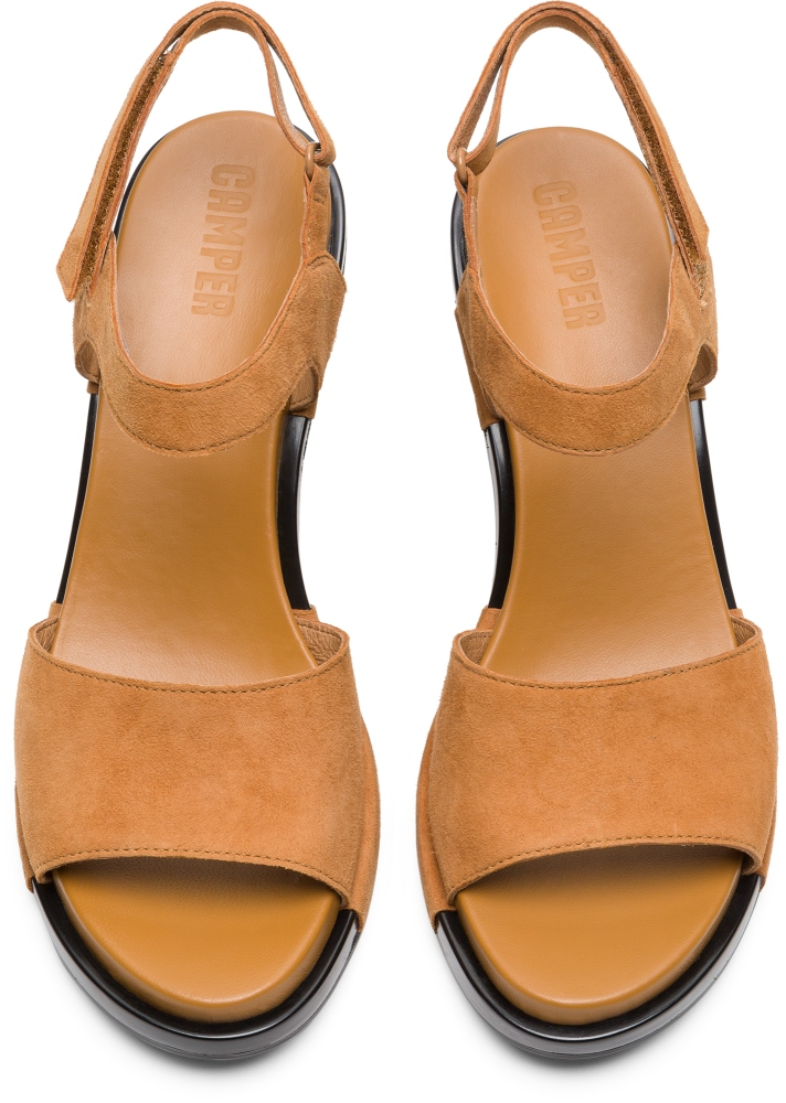 Camper Ivy Brown Heels Women K200398-005