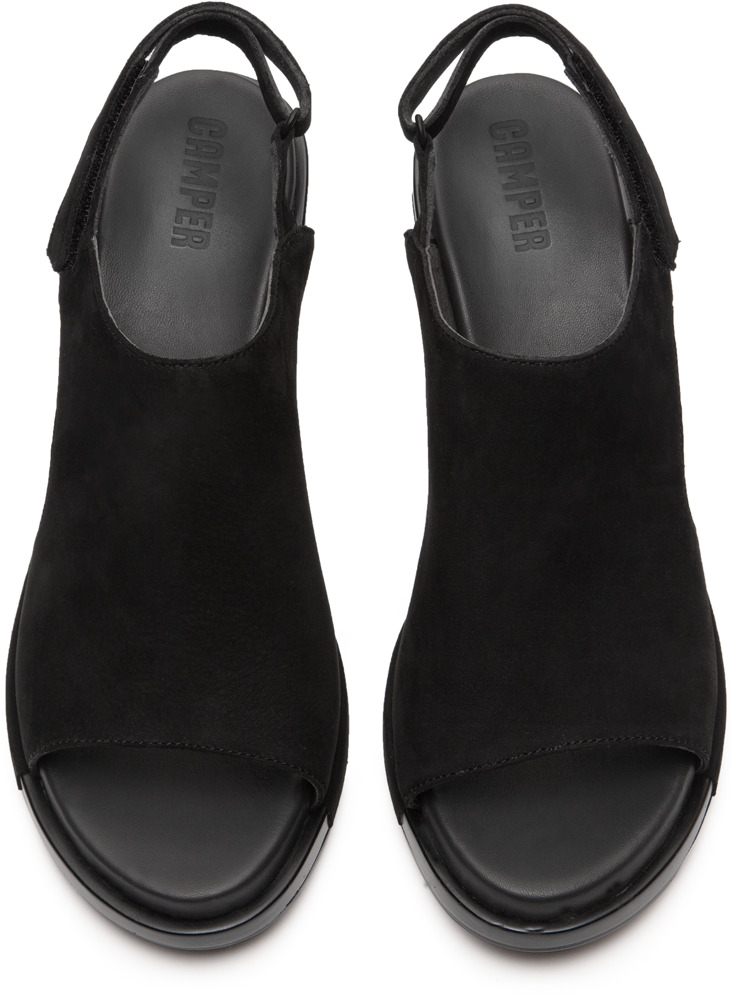 Camper Ivy Negro Zapatos de tacón Mujer K200399-001