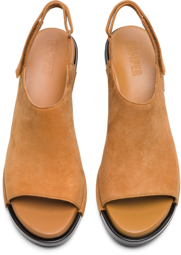 Camper Ivy Brown Heels Women K200399-004