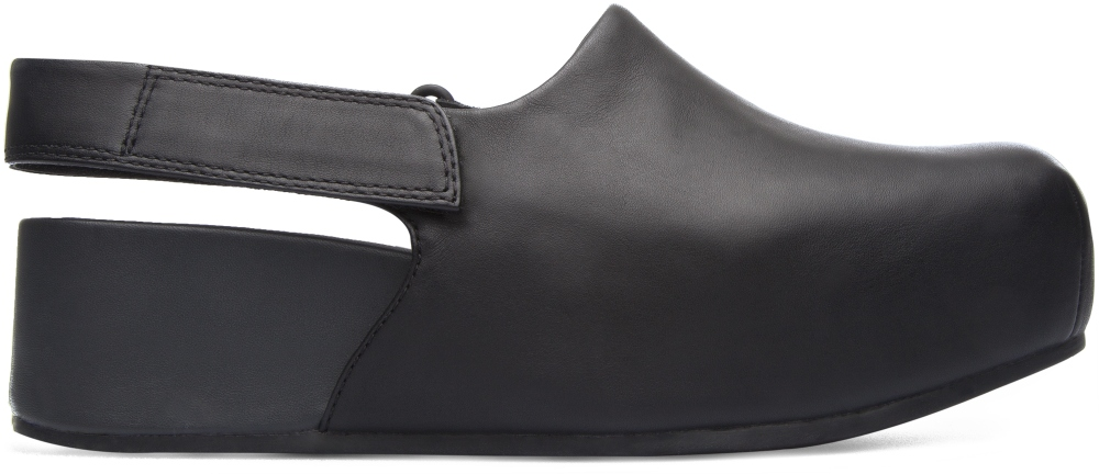 Camper Isamu Black Platforms / Wedges Women K200411-001