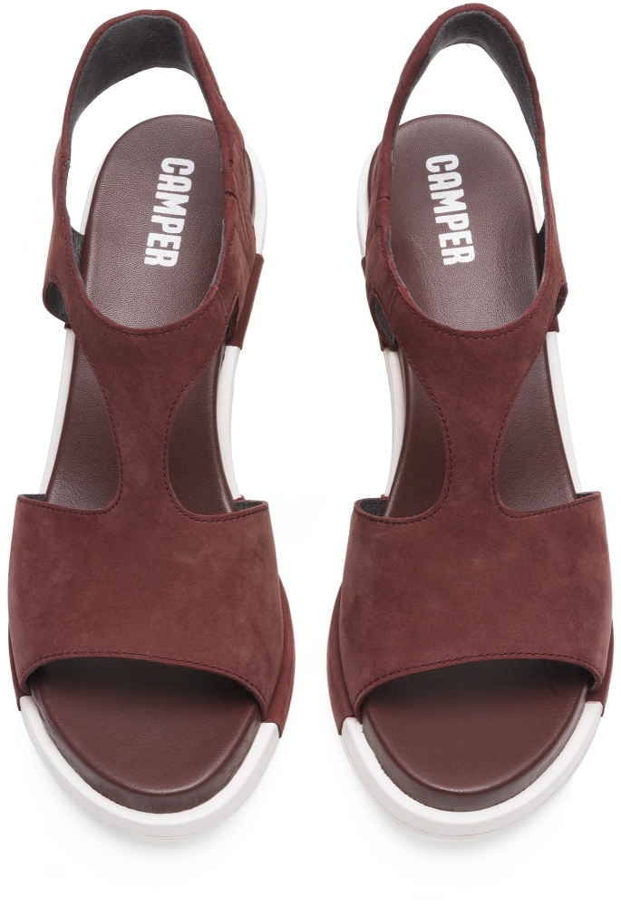 Camper Ivy Brown Heels Women K200419-002