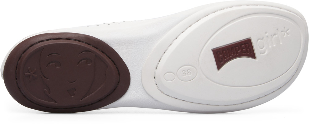 Camper Right Blanc Chaussures plates Femme K200441-002