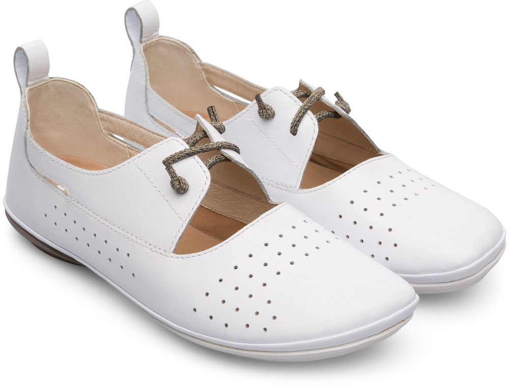 Camper Right White Casual Shoes Women K200441-006