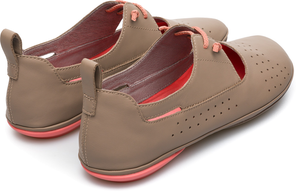 Camper Right Beige Casual Shoes Women K200441-007