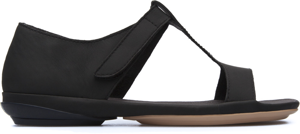 Camper Right Black Sandals Women K200443-003