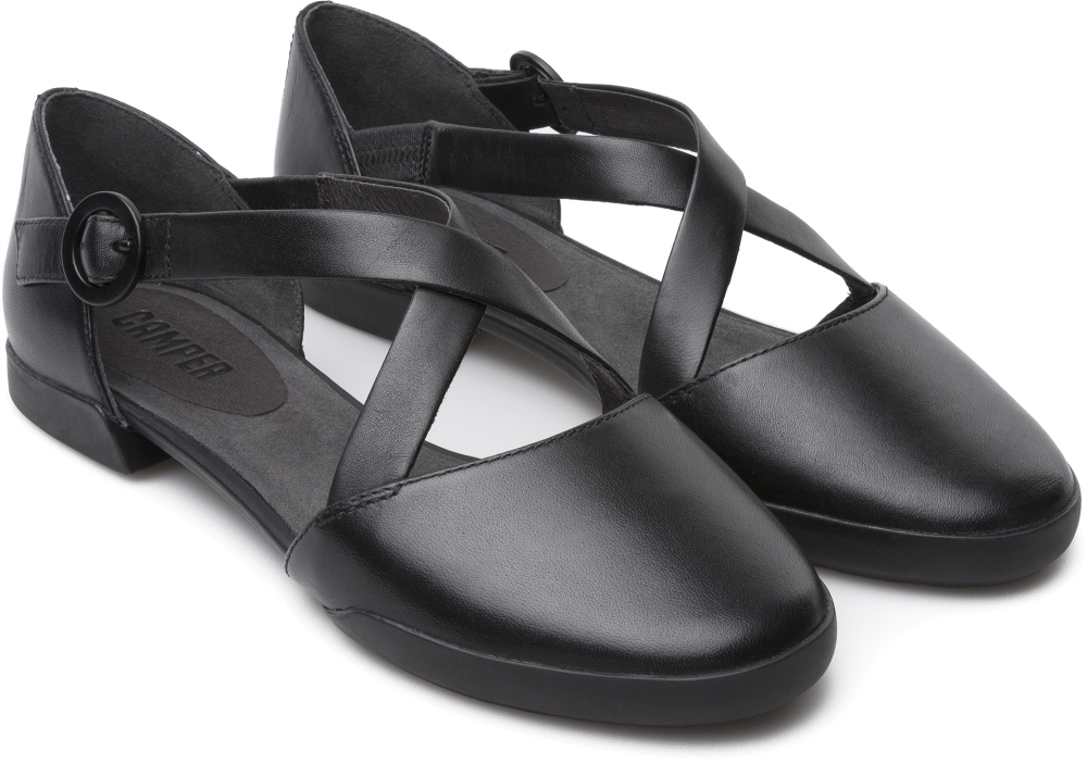 Camper TipTap Black Flat Shoes Women K200449-001