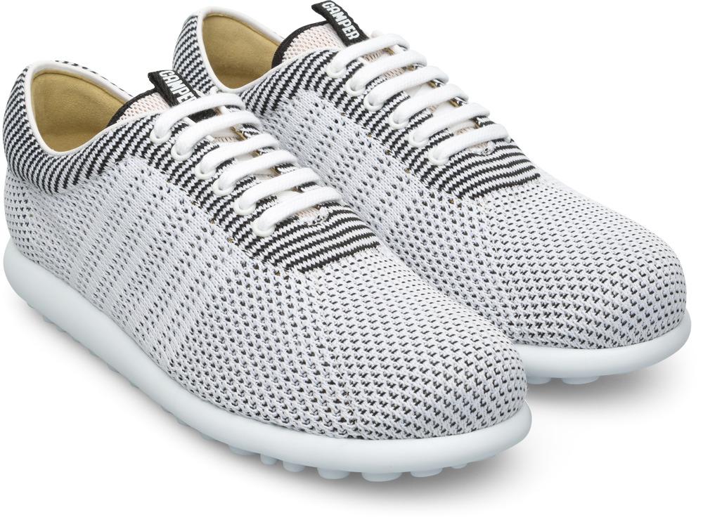 Camper Pelotas XLite Weiß Flache Schuhe Damen K200456-001