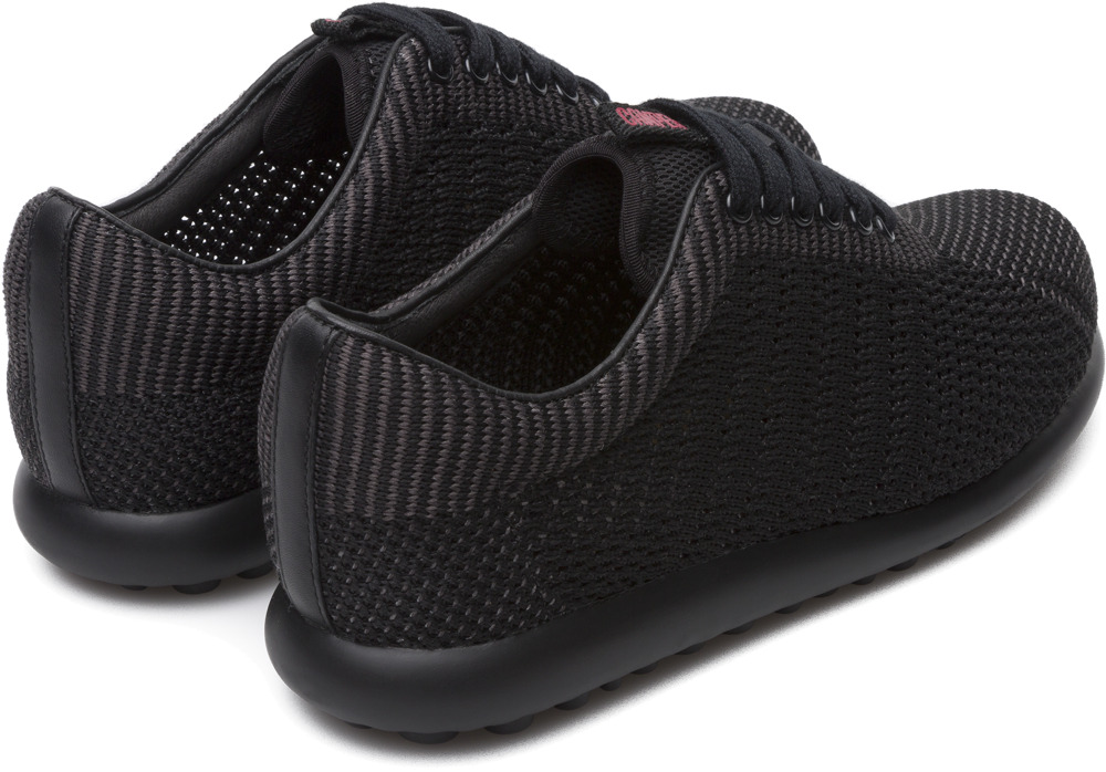Camper Pelotas XLite Black Flat Shoes Women K200456-005