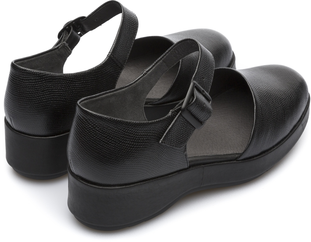 Camper Dessa Black Platforms / Wedges Women K200474-001