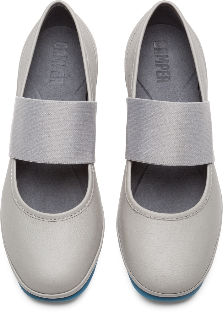 Camper Alright Grey Formal Shoes Women K200485-009