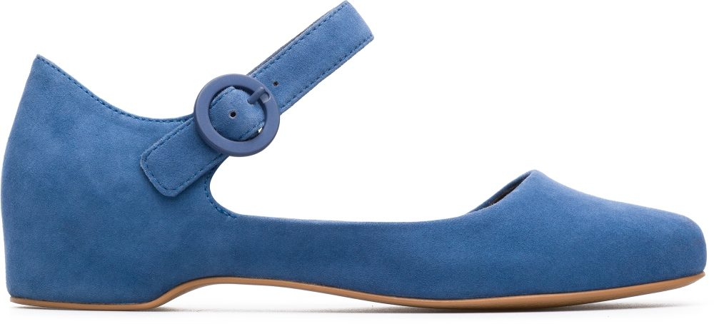 Camper Serena Blue Flat Shoes Women K200491-003
