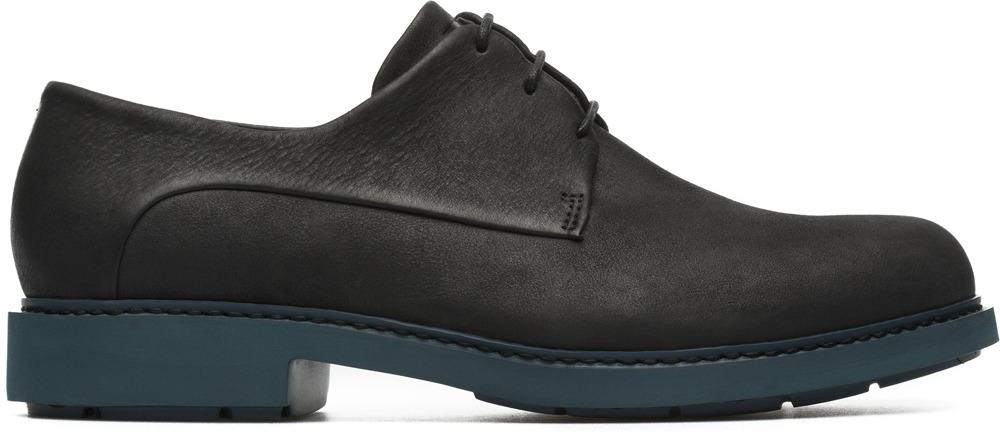 Camper Neuman Black Flat Shoes Women K200510-002